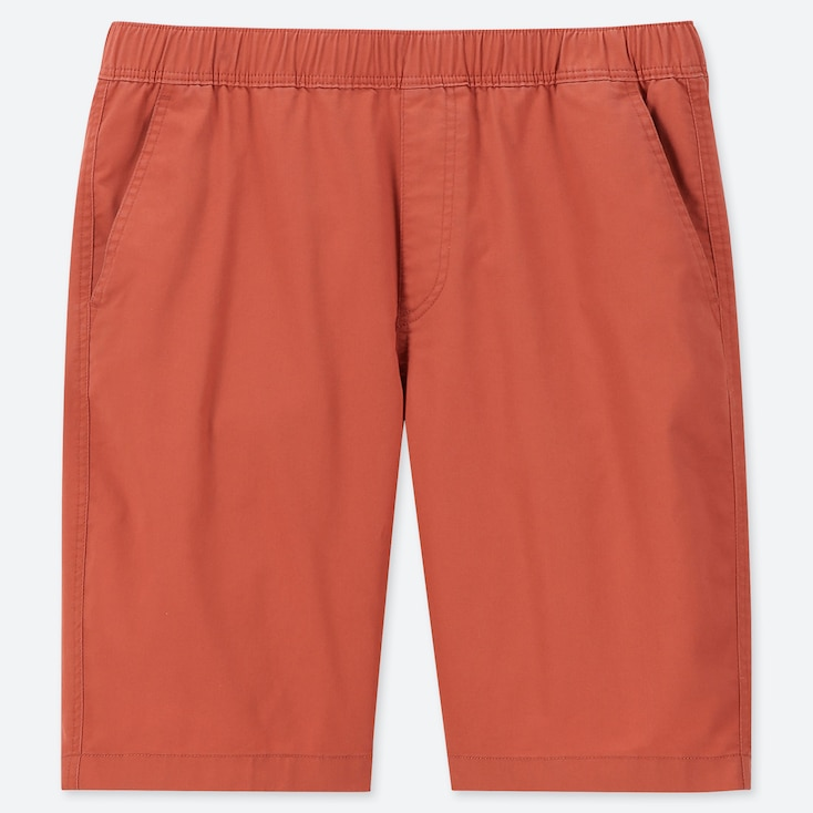 MEN DRY STRETCH EASY SHORTS, ORANGE, large