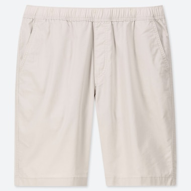 Men Dry Stretch Easy Shorts, Natural, Medium