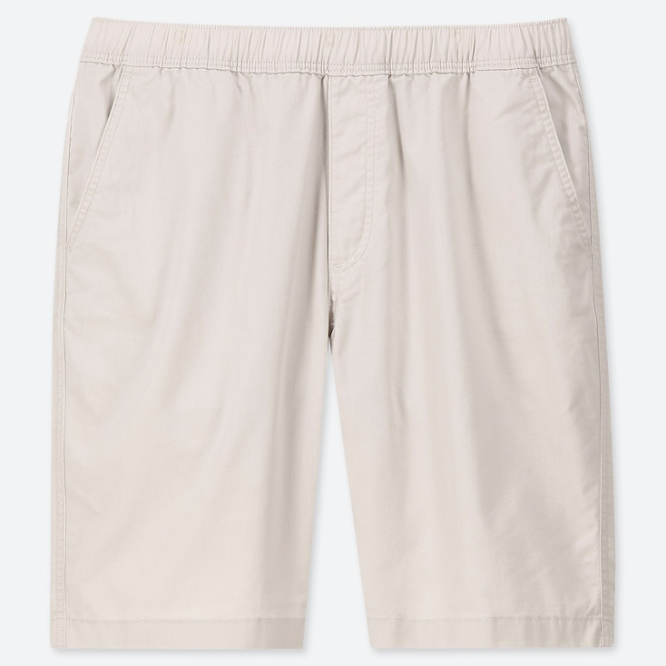 MEN DRY STRETCH EASY SHORTS, NATURAL, large