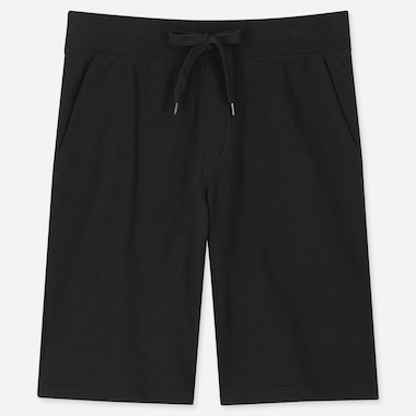 MEN JERSEY EASY SHORTS, BLACK, medium