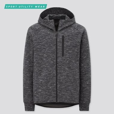 SWEAT À CAPUCHE DRY STRETCH ZIPPÉ HOMME