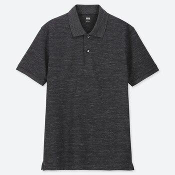 Men Dry Pique Short-Sleeve Polo Shirt