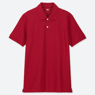 MEN DRY PIQUE SHORT SLEEVED POLO SHIRT