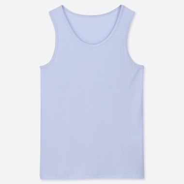 KIDS AIRism MESH TANK TOP, LIGHT BLUE, medium