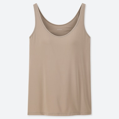 WOMEN AIRISM SLEEVELESS BRA TOP