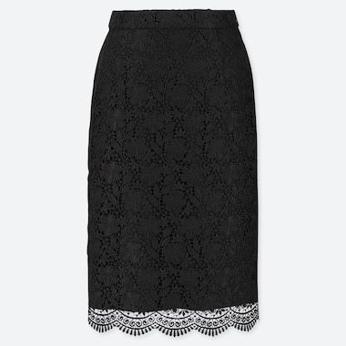 WOMEN LACE SKIRT