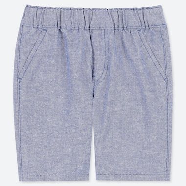 TODDLER CHAMBRAY SHORTS, BLUE, medium