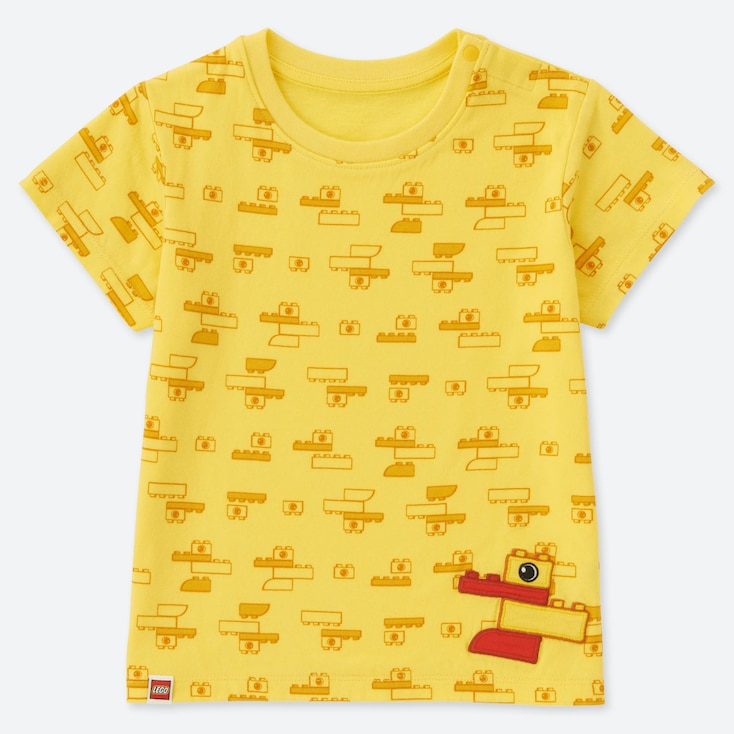 TODDLER LEGO® UT (SHORT-SLEEVE GRAPHIC T-SHIRT), YELLOW, large