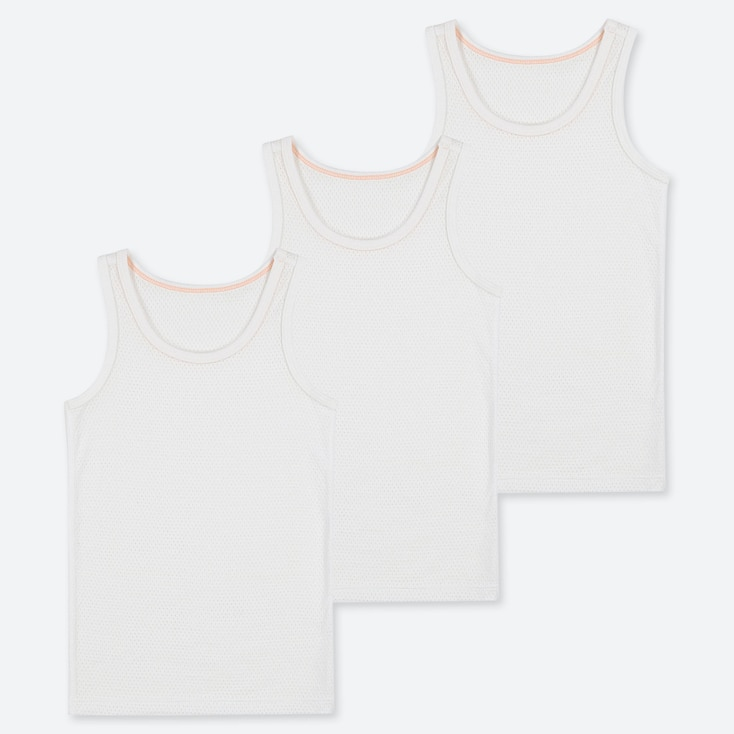 TODDLER COTTON MESH INNER TANK TOP (SET OF 3), WHITE, large
