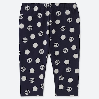 BABIES TODDLER MICKEY BLUE CROPPED LEGGINGS