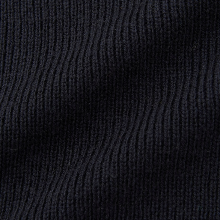 Women Ribbed Boxy V-Neck Long Sweater, Gray, Large