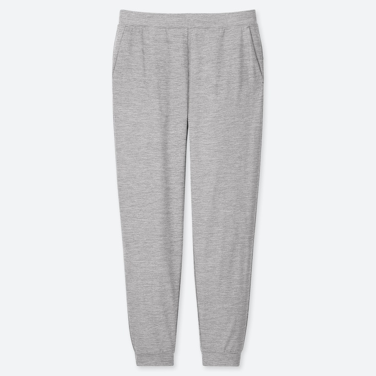 WOMEN ULTRA STRETCH ACTIVE ANKLE-LENGTH PANTS, GRAY, large