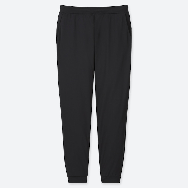 WOMEN ULTRA STRETCH ACTIVE ANKLE-LENGTH PANTS, BLACK, large