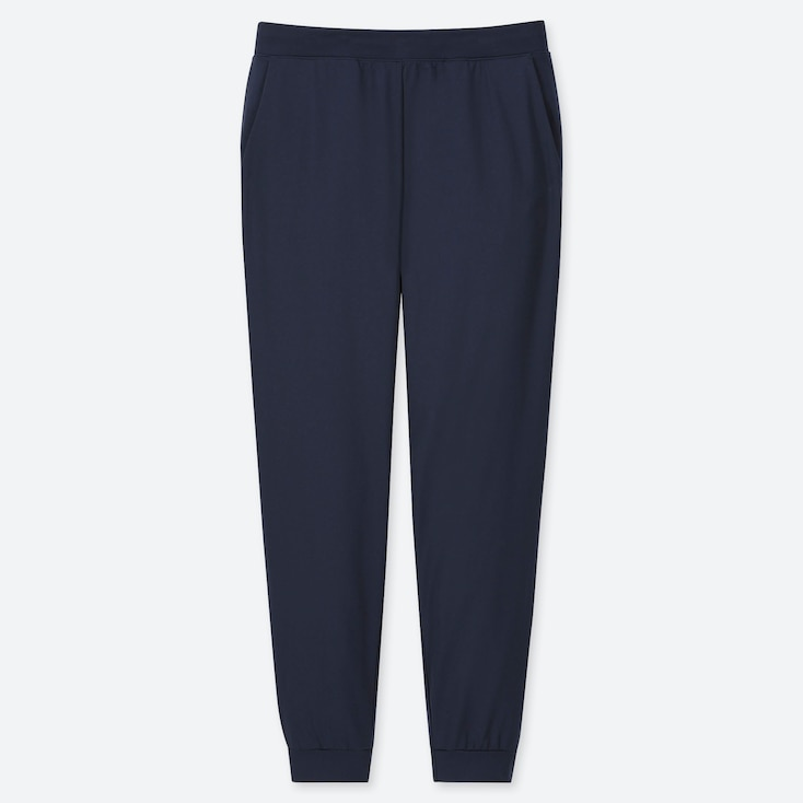WOMEN ULTRA STRETCH ACTIVE ANKLE-LENGTH PANTS, NAVY, large