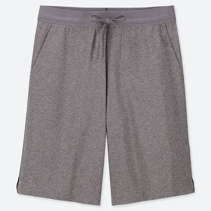 WOMEN ULTRA STRETCH ACTIVE KNEE-LENGTH SHORTS (ONLINE EXCLUSIVE), DARK GRAY, large