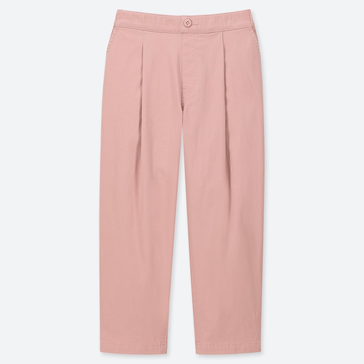 GIRLS ULTRA STRETCH RELAXED FIT ANKLE LENGTH TROUSERS
