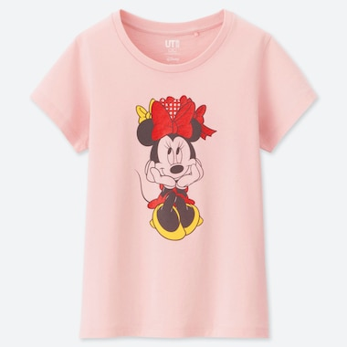 GIRLS CELEBRATE MICKEY UT (SHORT-SLEEVE GRAPHIC T-SHIRT), PINK, medium