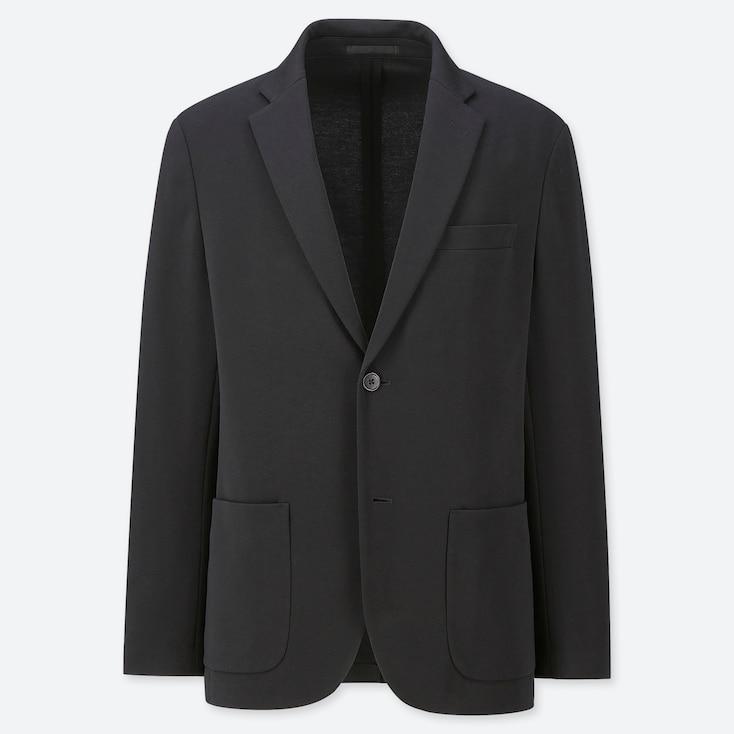 Men Comfort Jacket, Black, Large