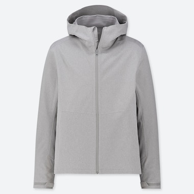Men Blocktech Parka, Gray, Medium