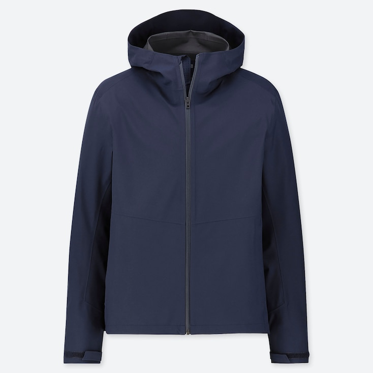 MEN BLOCKTECH PARKA, NAVY, large