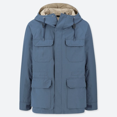 MEN HOODED MOUNTAIN PARKA
