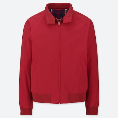 MEN HARRINGTON JACKET, RED, medium