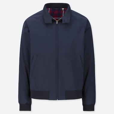 Men Harrington Jacket, Navy, Medium