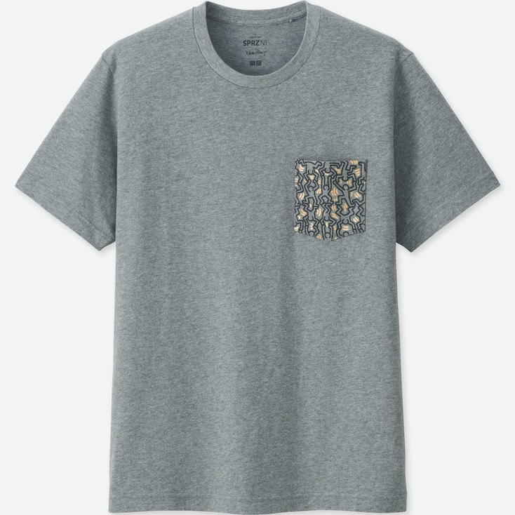 UT SPRZ NY KEITH HARING T-SHIRT GRAPHIQUE HOMME