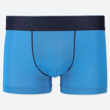 MEN AIRism LOW-RISE BOXER BRIEFS, BLUE, medium