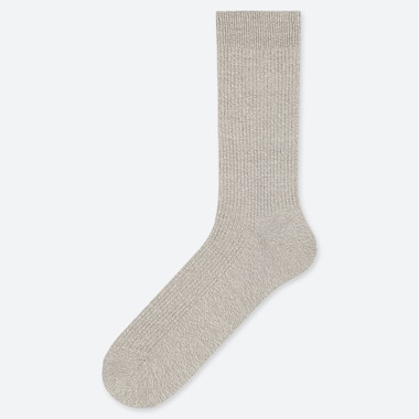 MEN COLOR SOCKS, LIGHT GRAY, medium