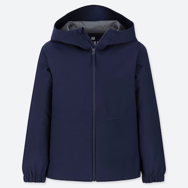 KIDS BLOCKTECH PARKA, NAVY, medium