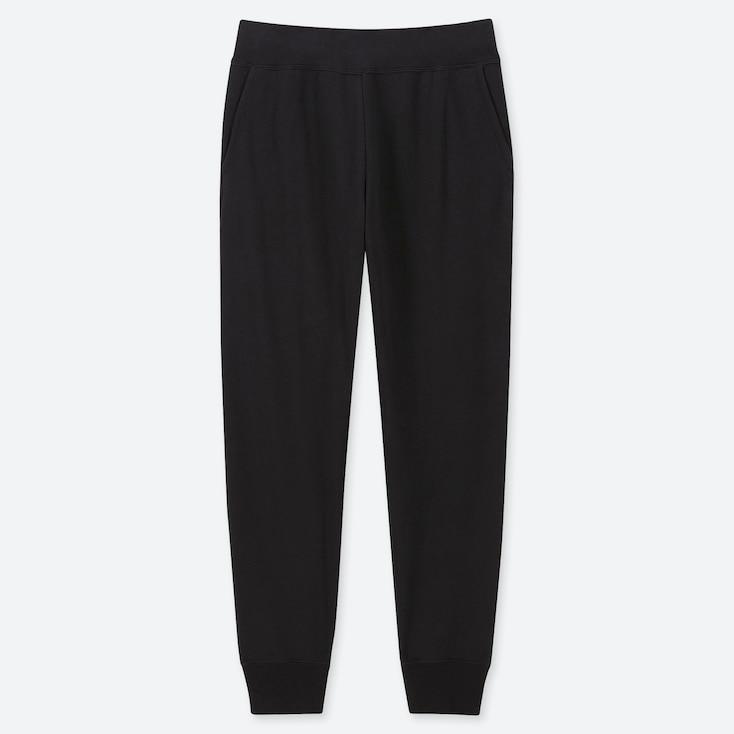 WOMEN ULTRA STRETCH PANTS, BLACK, large