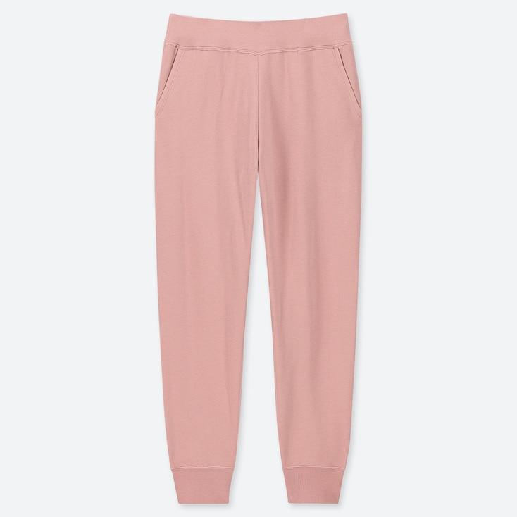 WOMEN ULTRA STRETCH PANTS, PINK, large