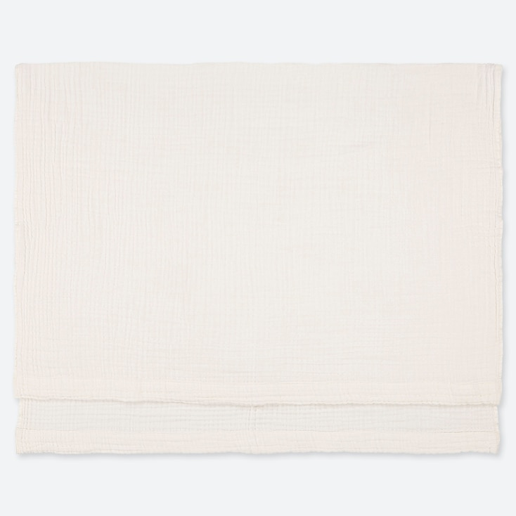 COTTON GAUZEKET, OFF WHITE, large