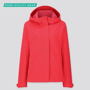 WOMEN BLOCKTECH PARKA, RED, medium