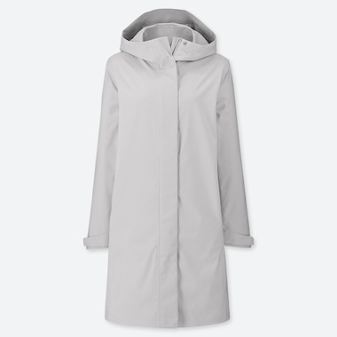 WOMEN BLOCKTECH COAT, LIGHT GRAY, medium