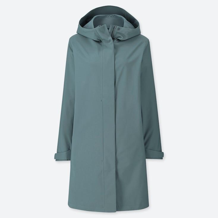 WOMEN BLOCKTECH COAT, GREEN, large