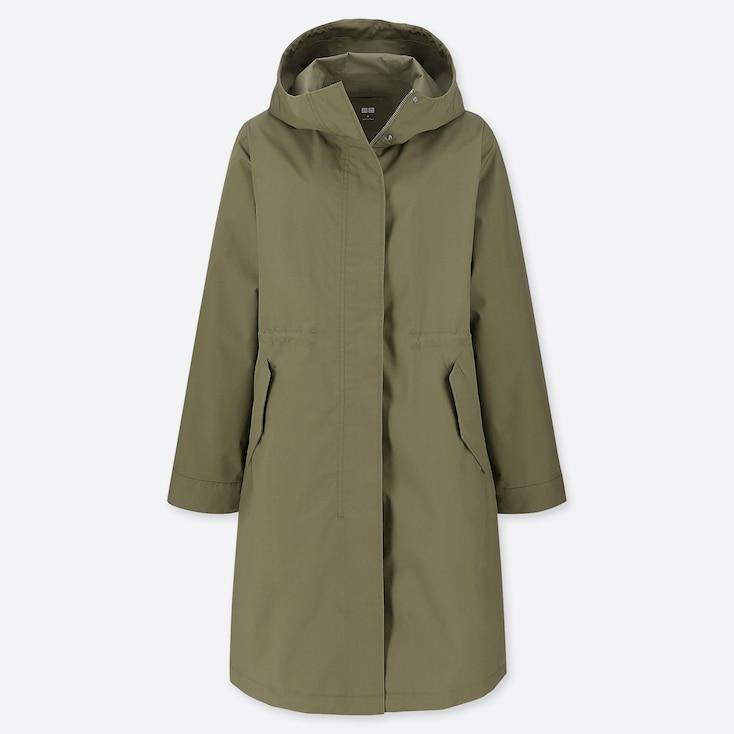 Women Blocktech Mods Coat, Olive, Large