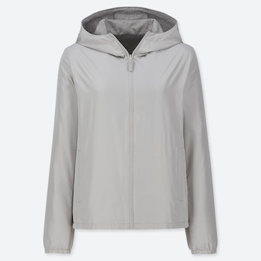 WOMEN REVERSIBLE HOODED PARKA