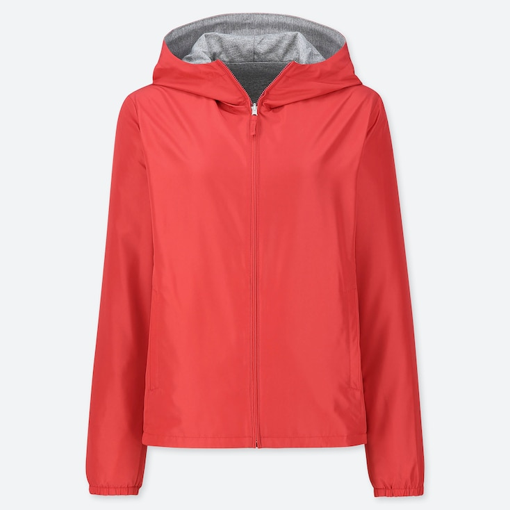 WOMEN REVERSIBLE PARKA (ONLINE EXCLUSIVE), RED, large