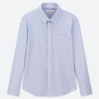 BOYS EASY CARE COMFORT LONG SLEEVED SHIRT
