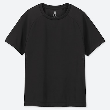 KIDS DRY-EX CREW NECK SHORT SLEEVED T-SHIRT