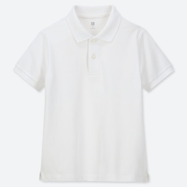 KIDS DRY PIQUE SHORT SLEEVED POLO SHIRT