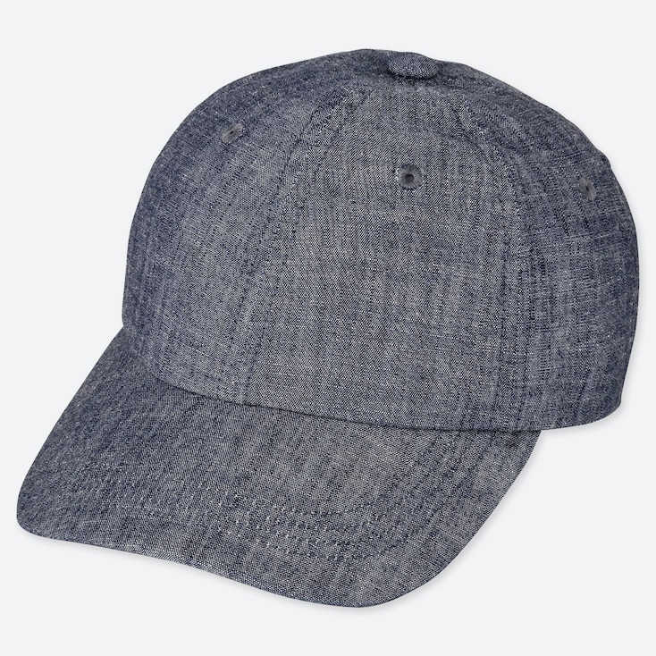 KIDS CHAMBRAY CAP, BLUE, large