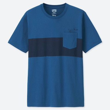 MEN MICKEY BLUE UT GRAPHIC T-SHIRT