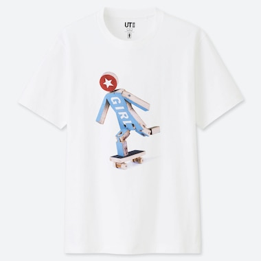T-SHIRT STAMPA UT GIRL SKATEBOARDS UOMO