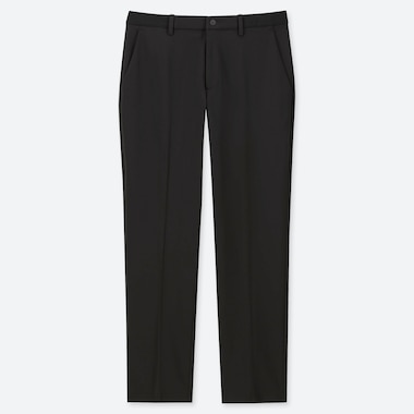 MEN EZY DRY-EX ANKLE-LENGTH PANTS, BLACK, medium