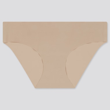 WOMEN AIRism ULTRA SEAMLESS BIKINI SHORTS, KHAKI, medium