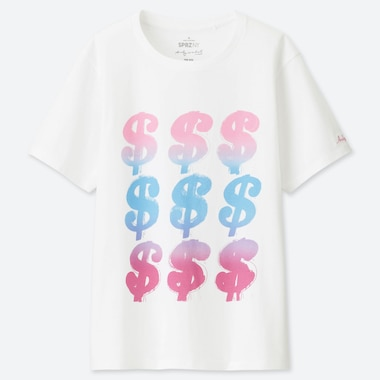 WOMEN SPRZ NY ANDY WARHOL UT GRAPHIC T-SHIRT
