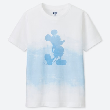 KIDS MICKEY BLUE UT (SHORT-SLEEVE GRAPHIC T-SHIRT), WHITE, medium